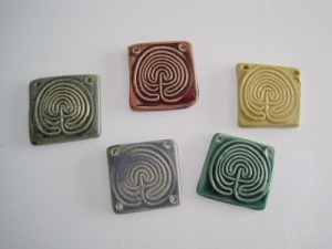 Ceramic labyrinth components