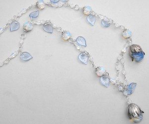 Ice Flowers necklace