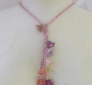 Summery flower necklace