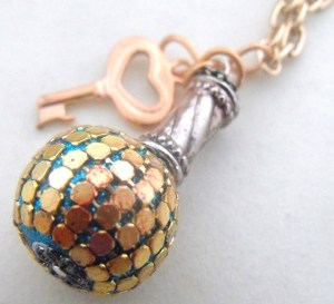 Doorknob and Key Necklace