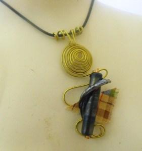 bagpipe necklace