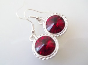 redblkearrings