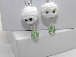 mummy earrings