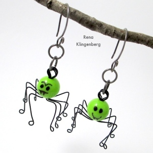 cool spidey earrings